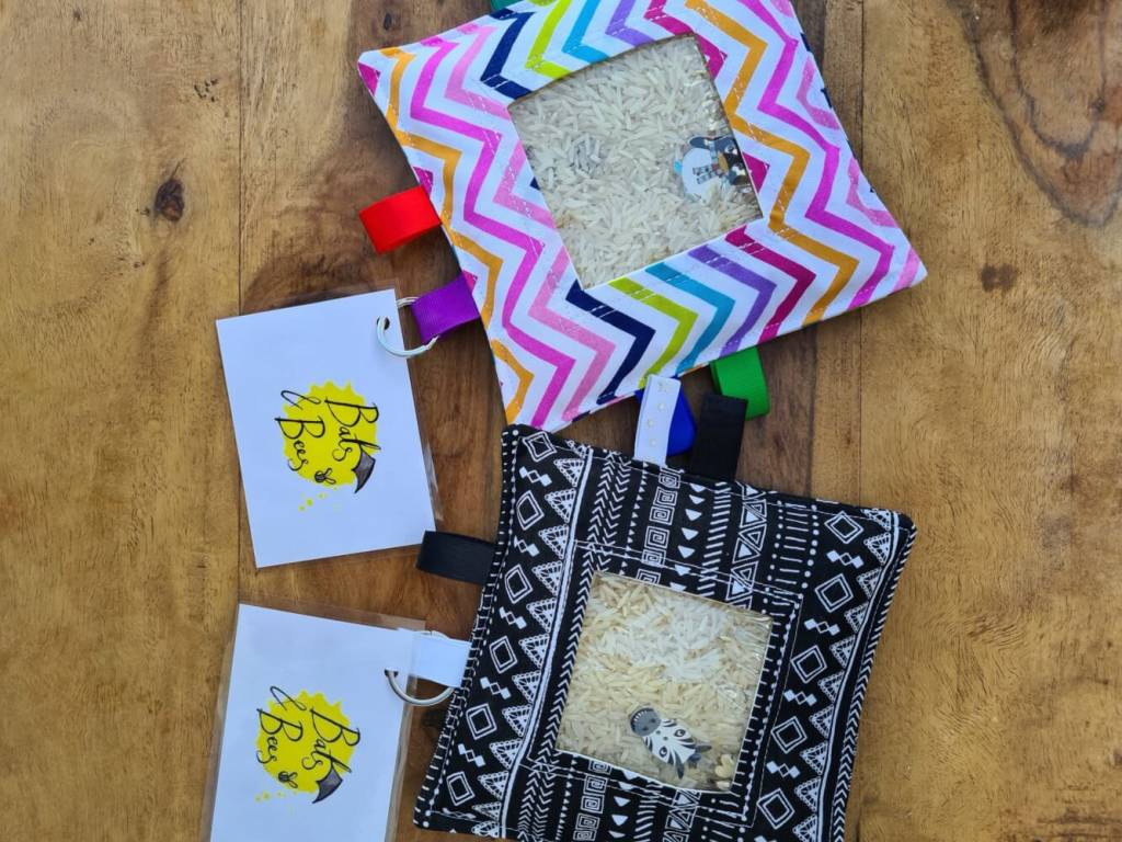 I-Spy Bags – Adored by Sensory Seekers – Calming, Focused Activity Can Reduce Anxiety. from sensooli.com – V-i-spy